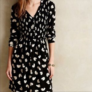 Anthropologie Maeve Banet Heart Dress - Size L